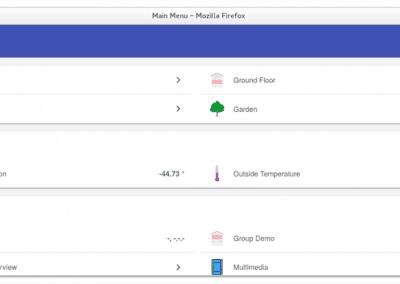 OpenHAB interface - Basic UI