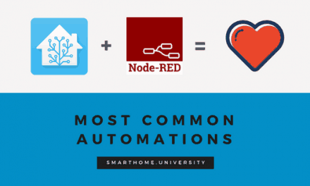 Most common automation rules in Node-RED