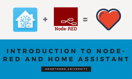 A match made in heaven: Node-RED and Home Assistant